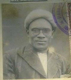 Historical passport photo of Hajji Kibirige(R.I.P) when he went for pilgrimage to Mecca in 1950.