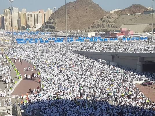 Millions of pilgrims.